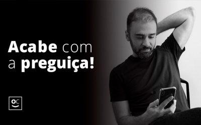 Capa Video Acabe com a preguiça - Blog Tiago Curcio